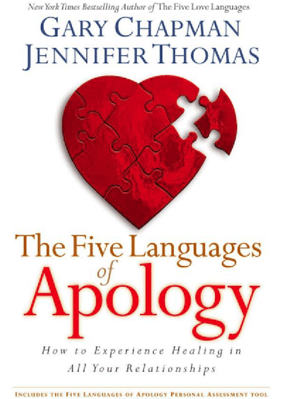 The 5 Languages of Apology
